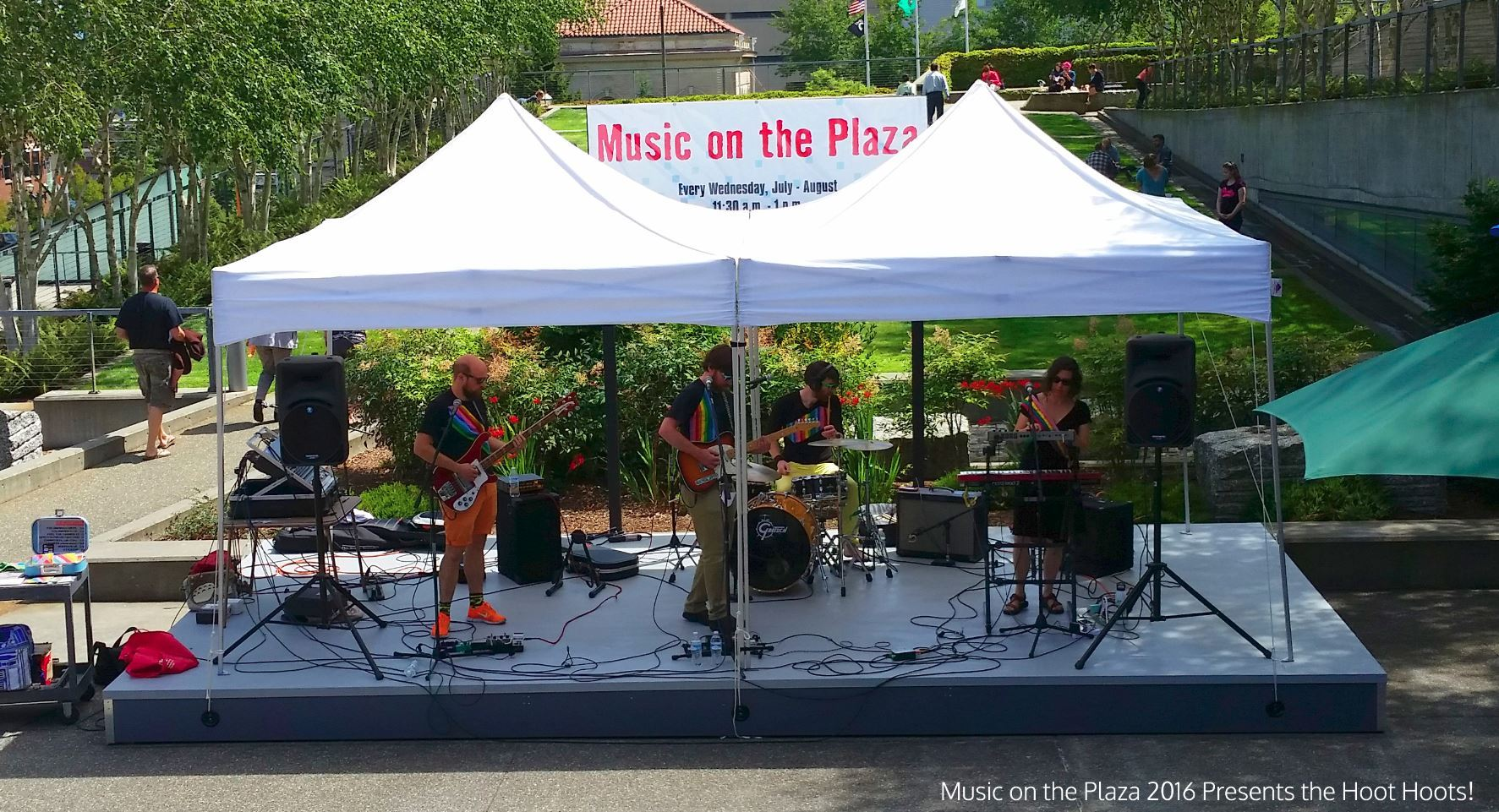 Music on the Plaza Presents the Hoot Hoots!