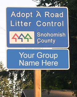 Adopt a Road Sign