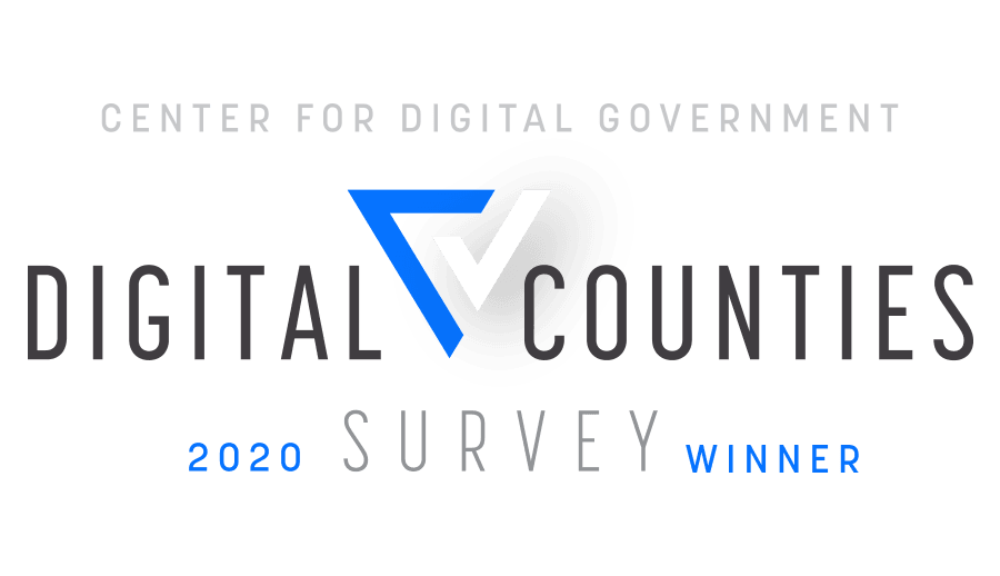 CDG2020 Digital Counties Survey Winner
