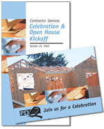 Contractor Services Promotional Materials