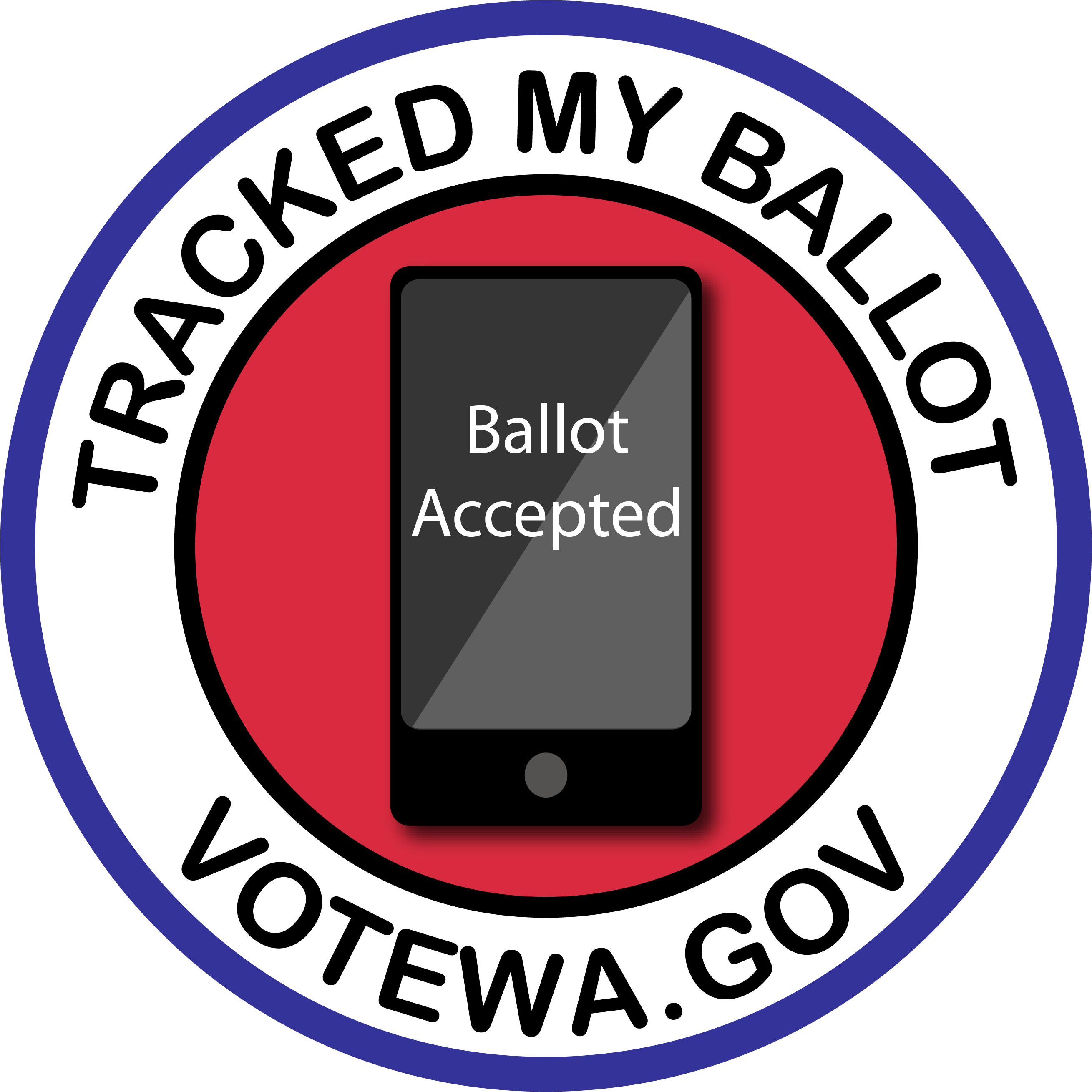 Tracked My Ballot Badge 6