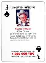 3 of Clubs - Martin Williams