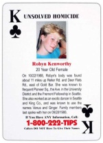 King of Clubs - Robyn Kenworthy