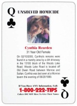 Queen of Clubs - Cynthia Rearden