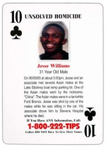 10 of Clubs - Jesse Williams