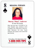 8 of Clubs - Sharon Anderson