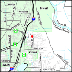 Jefferson Elementary Map