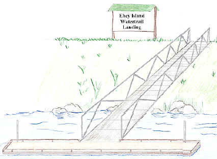 Floating Dock Conceptual Drawing